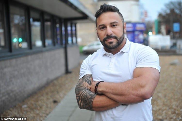 Troy Hammdeh bouncer at Sugar Mill nightclub, Hull.