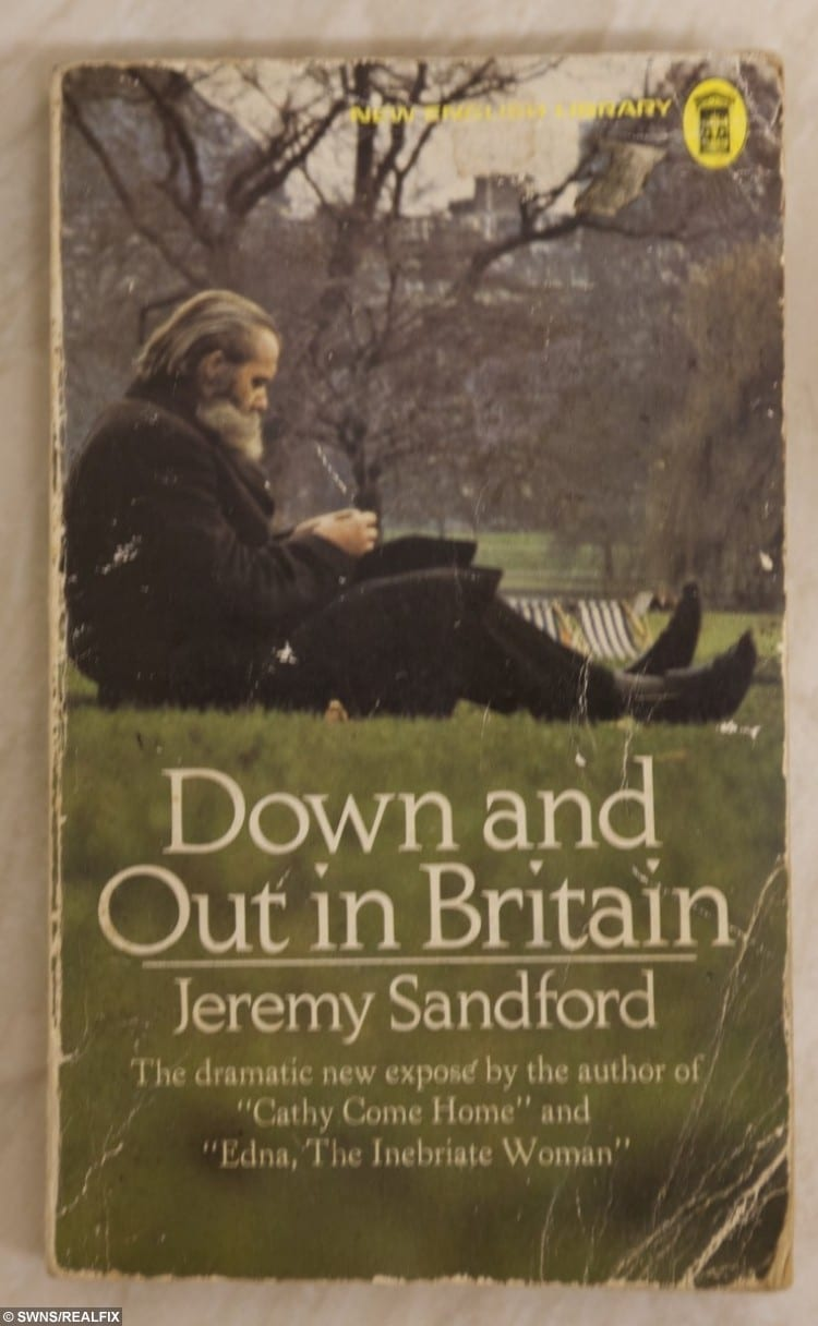 Joan Selway copy of Down and Out in Britain by Jeremy Sandford.
