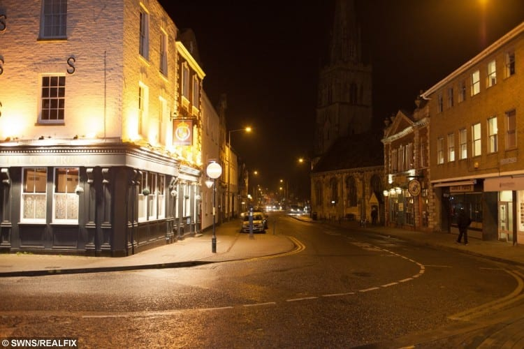 Where Ken Selway use to eat out of bins when he was homeless in Gloucester, Gloucestershire.