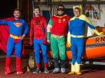 Rescue Team Seen Dashing Through The Streets In Fancy Dress – After Call Out During New Year's Eve Party
