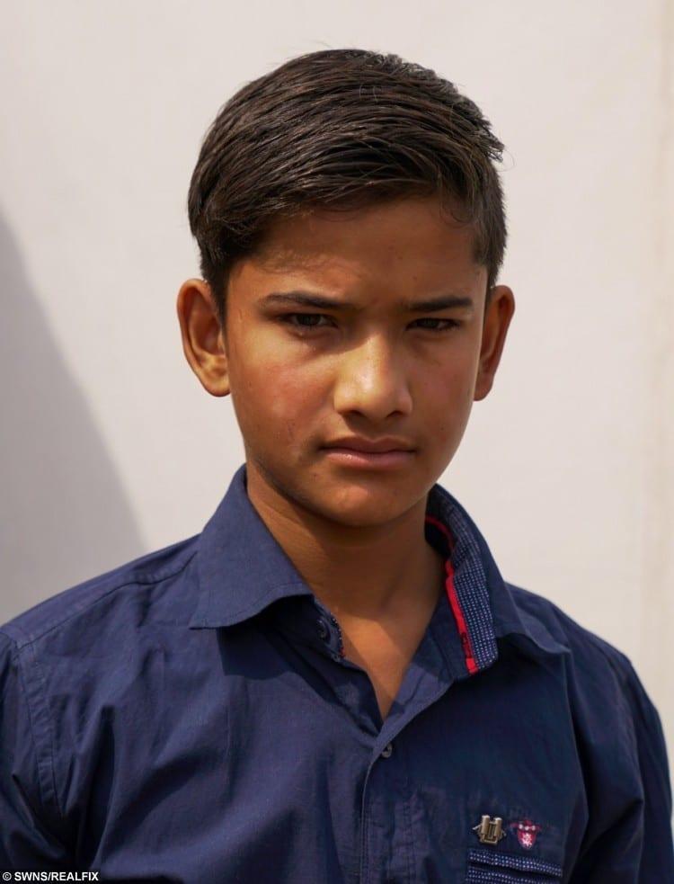 Akhilesh Raghuvanshi, 13 from Ashoknagar in Madhya Pradesh