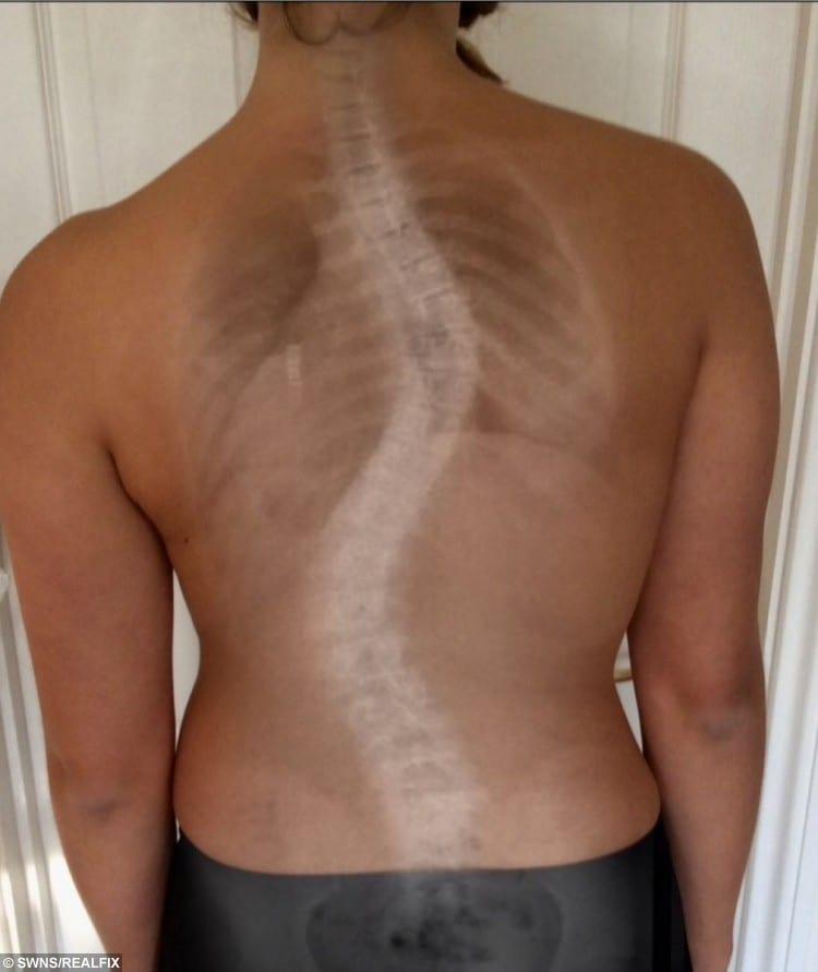 Lucie Clarke spine.