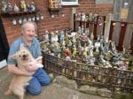MAN transforms his garden into a Meerkat Mansion after taking up the bizarre hobby of buying meerkat ornaments