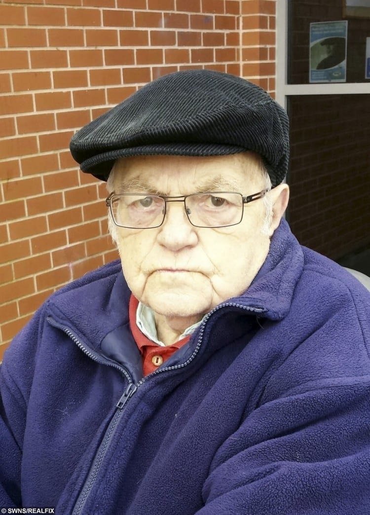 Dennis Webster, of Bentilee, Stoke-on-Trent, who has hit out at the mobility scooter ban.