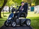 92-Year-Old War Veteran Gets New Lease Of Life With Mobility Scooter Donated By Charities