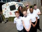 School Convert Caravan Into Classroom After Running Out Of Money And Space For Pupils