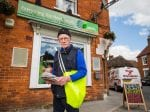 90-Year-Old Claiming To Be World's Oldest PAPER BOY
