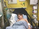 Dad Praises NHS Staff For Saving Young Sons Life After He Nearly Died Choking On A GRAPE