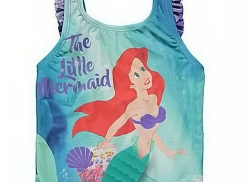 178d9ebe34 Shopper Mortified After Spotting Topless Little Mermaid Swimming Costume  For Sale In ASDA