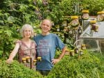 Marmite Lover Decorates Garden With Two-Hundred Empty Jars Saved Over Last 25 Years!