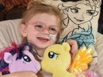 Little Girl Has Rare Condition Which Means She'll Never Grow Up And Is Slowly Losing Her Ability To Walk And Speak