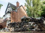 Posh Birmingham House Turned Into Makeshift Tip After Tons Of Rubbish Is Dumped On Drive