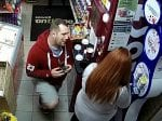 CCTV Captures Service Station Proposal On The Spot Where Assistant First Met Love Of His Life