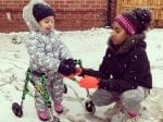 Heart-Warming Video Shows Little Girl Take Tentative Steps On Walking Sticks As Family Launch Appeal For £80k Op