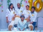 Great-Great-Great Grandmother Celebrates Her Landmark 100th Birthday At Surprise Party – With Six Generations Of Her Family