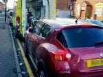 Selfish Driver Shamed After Being Pictured Blocking In Ambulance On Emergency Call