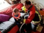 Three-Year-Old Rescued By Firefighters After Getting Head Stuck – In A Toilet Seat