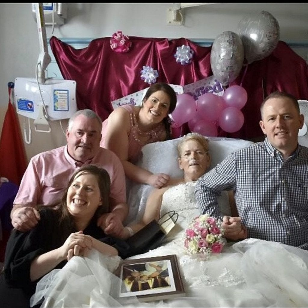 Pancreatic Cancer People In Hospital Room
