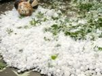 Video Captures Hailstones The Size Of Tennis Balls Damaging Homes And Cars
