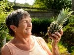 Green-Fingered Gran Grows Not One – But FIVE Pineapples In Her Garden