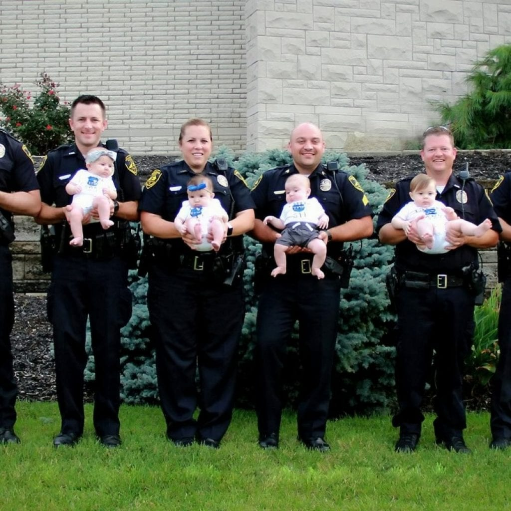 Eight Police Officers Welcome Newborns In Just 11 Months