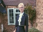 Before And After Photos Show Transformation Of Shy Teen In An Ill Fitting Suit To A Glam Out And Proud Graduate In A Velvet Two-Piece