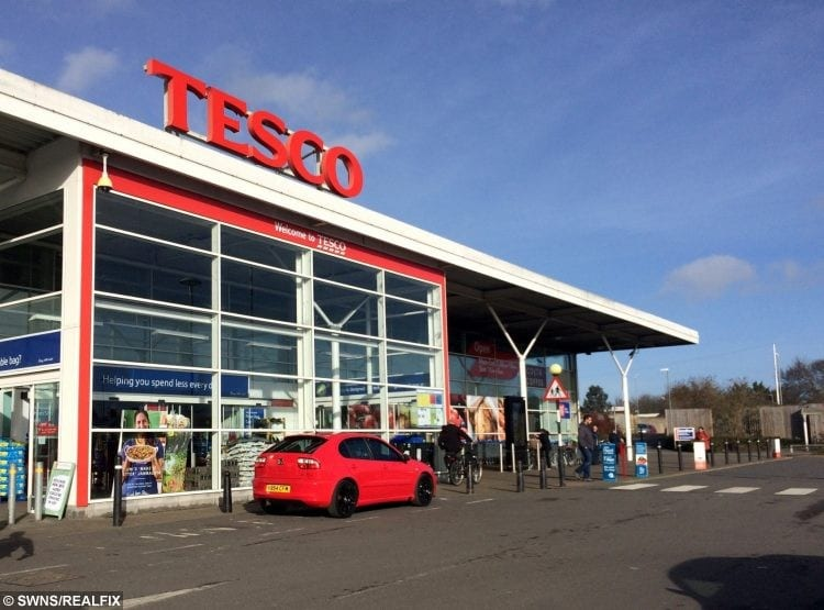 Tesco Becomes The First Supermarket To Put A Christmas
