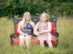 "Twins Share ""Magical Bond"" Despite The Fact One Has Rare Genetic Condition Angelman Syndrome Which Means She Cannot Talk"