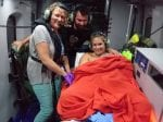 Baby Born In The Sky Above Cornwall – Onboard Coast Guard Helicopter