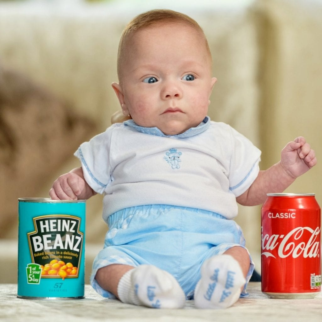 Meet Theo The Smallest Baby Boy Ever Born Weighing 350g – The Same As A Can Of Coke