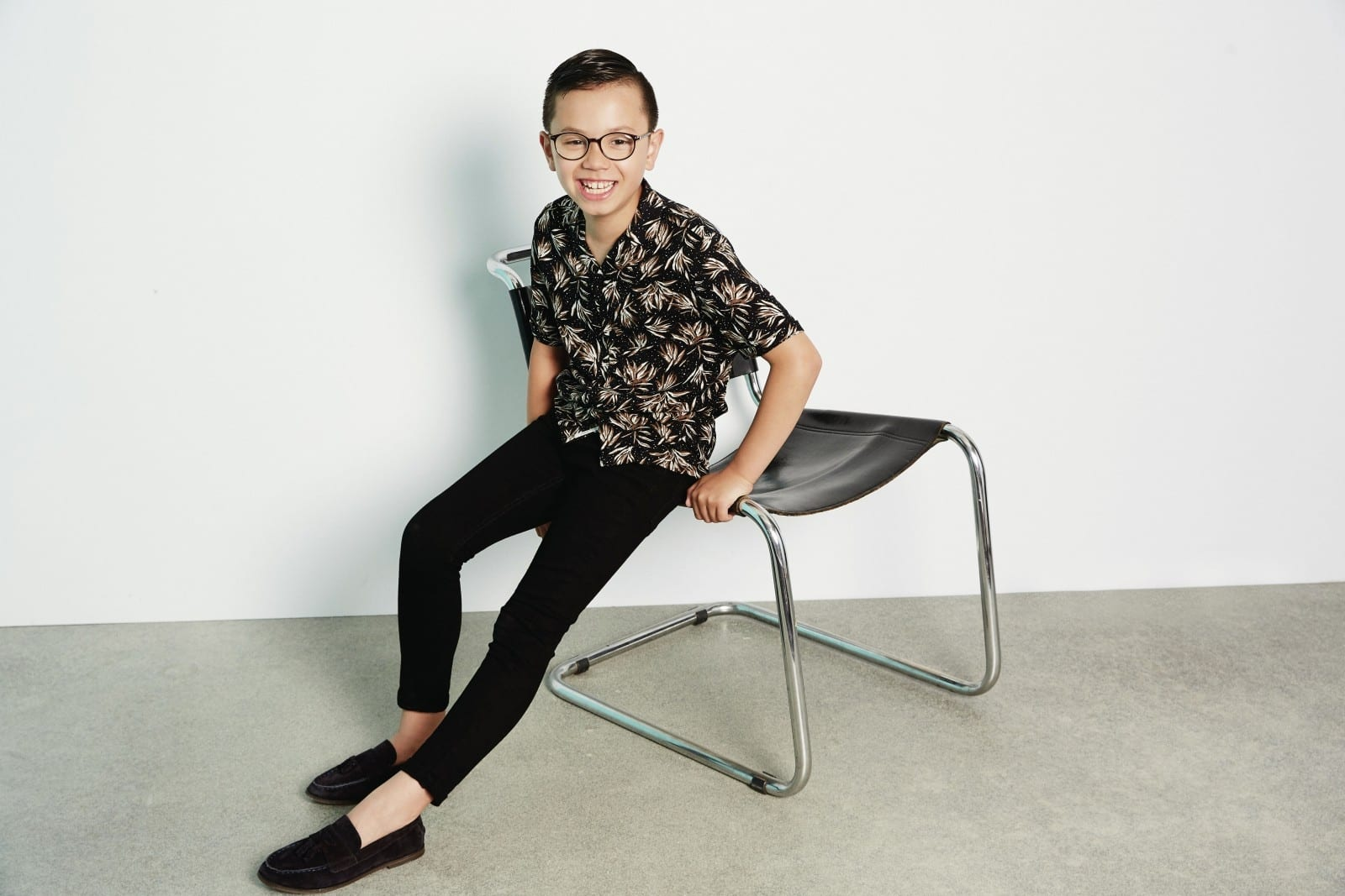 Autistic Boy Banned From School Picture Becomes High Street Model