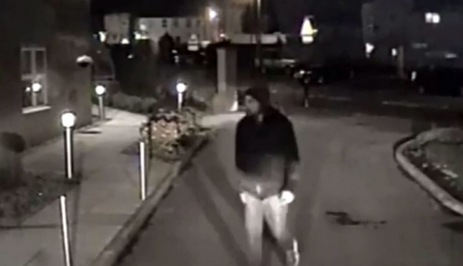 Shocking CCTV Footage Shows Moment Thief Breaks Into Ambulance As Paramedics Treat Patient Nearby