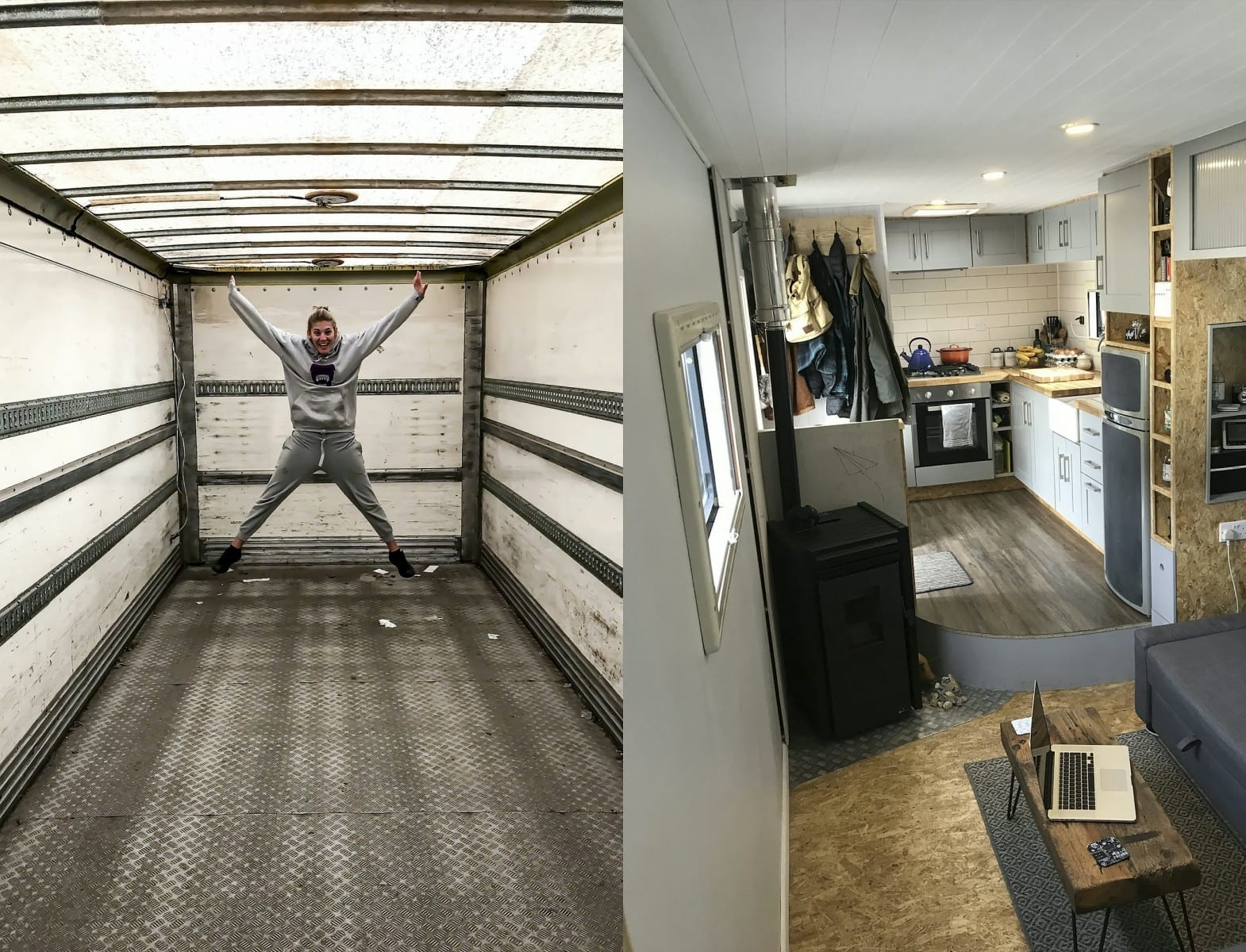 Couple Living The Dream After Spending £20,000 To Create Their Perfect Motor Home – Out Of An Old Bread Lorry