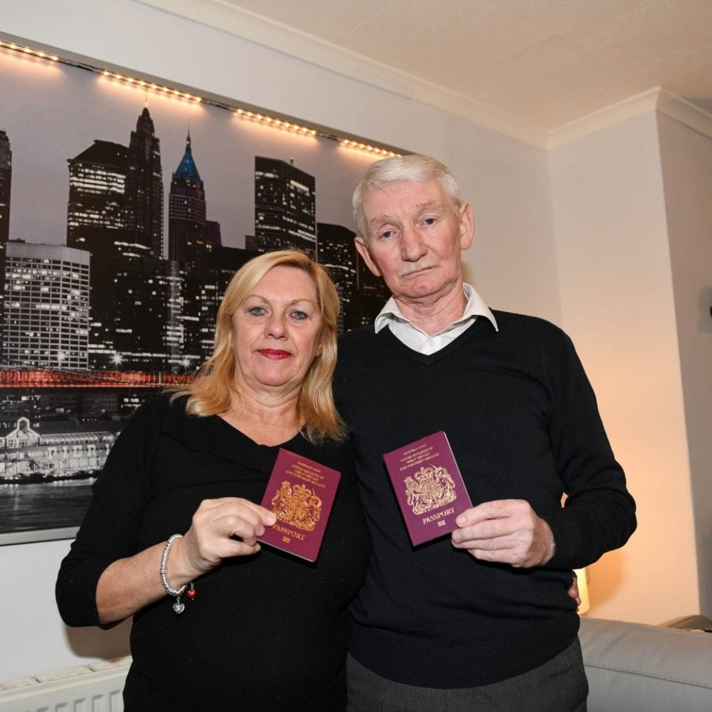 Grandfather's Dreams Of Spending Christmas In New York In Tatters After Accidentally Branding Himself A TERRORIST On Visa Form