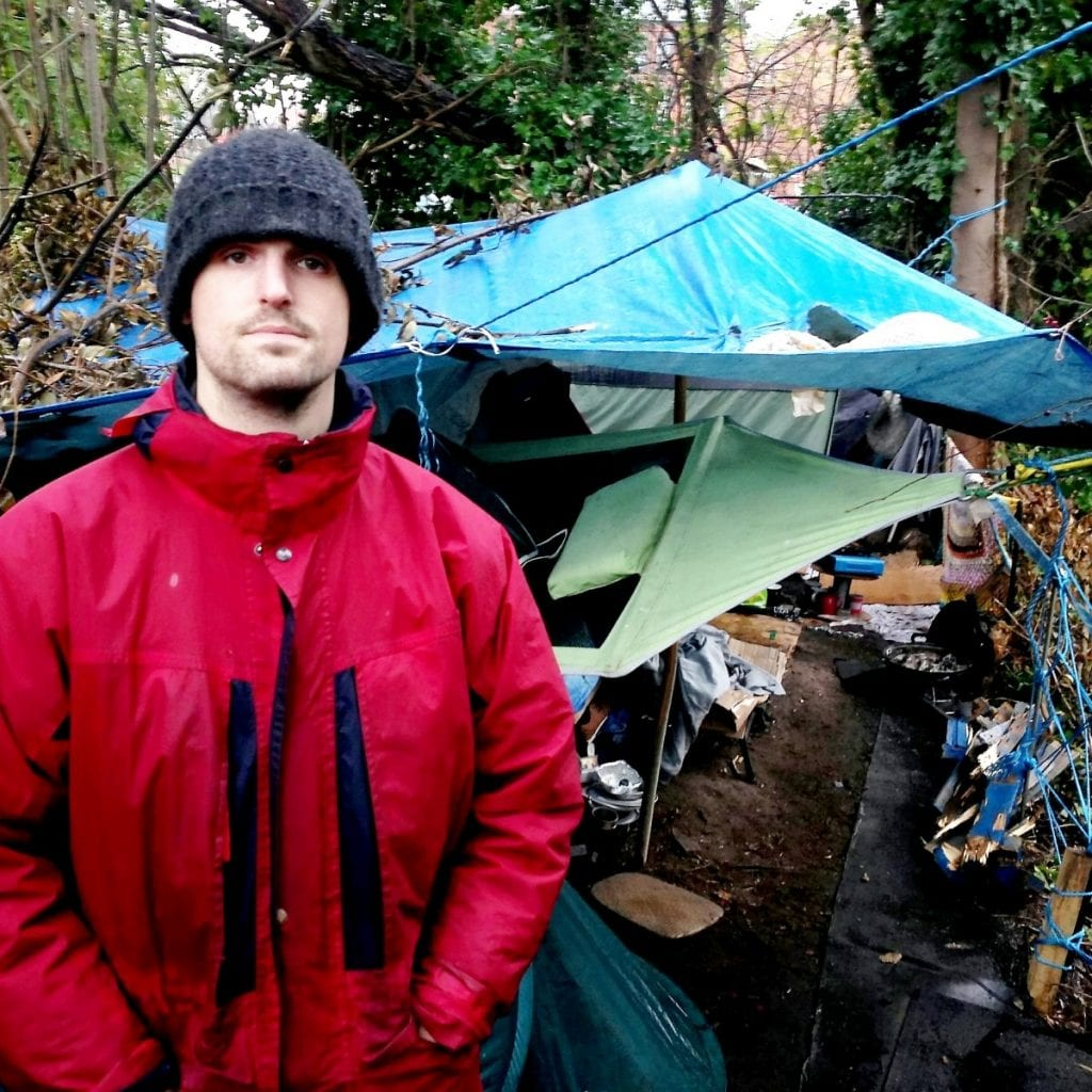 Former Soldier Who Fought In Afghanistan Forced To Live In A Shack On A River Bank After Suffering PTSD