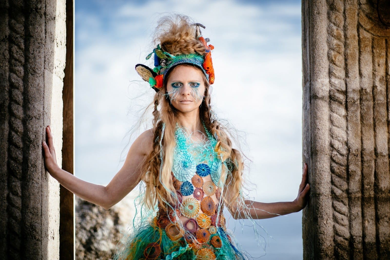 One Women's Trash! – Clothing Designer Makes Dress Out Of Ghost Netting To Raise Awareness