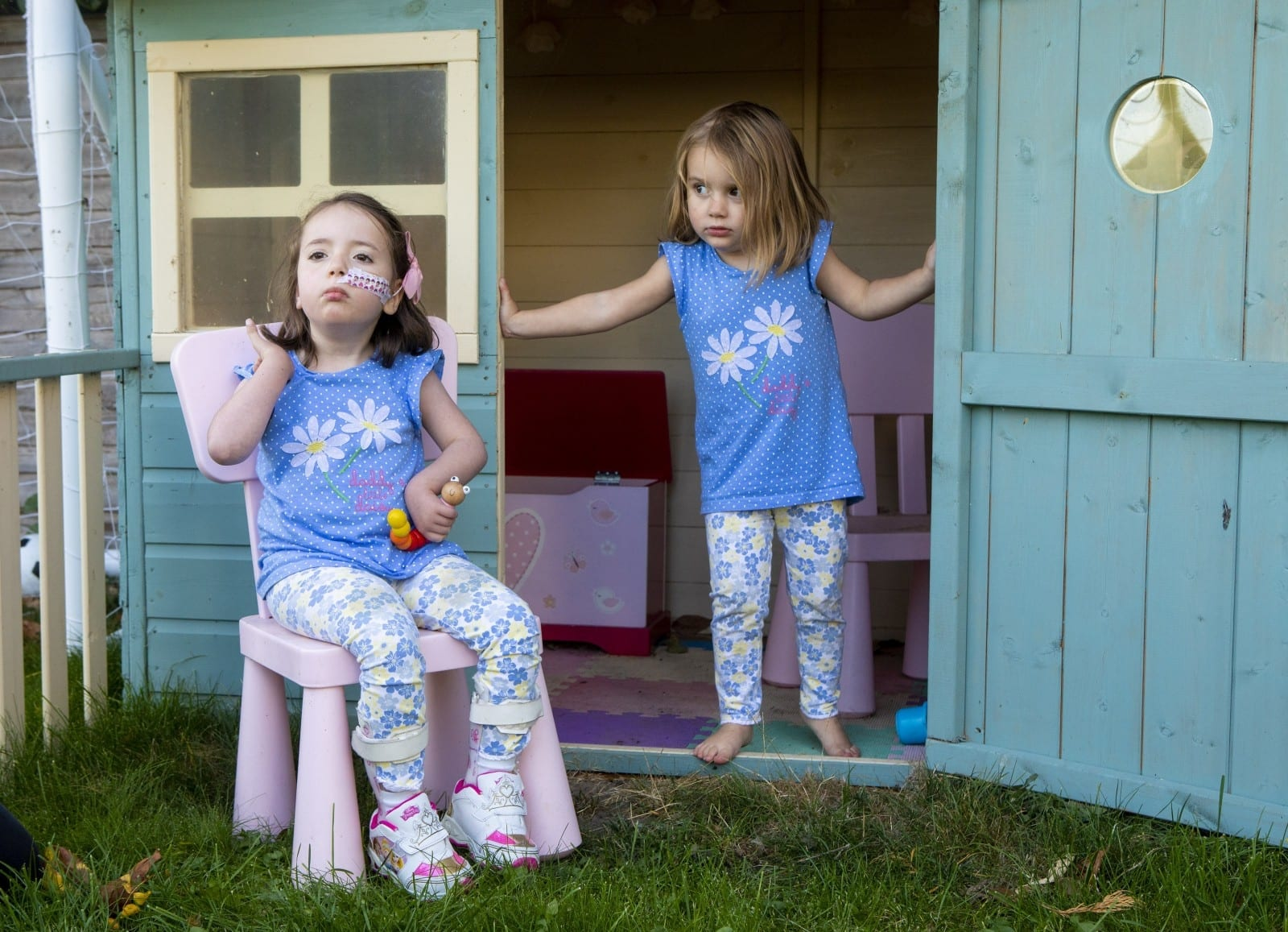 Six-Year-Old's Brave Battle With Dementia Disorder Has Saved Younger Sister From The Same Fate