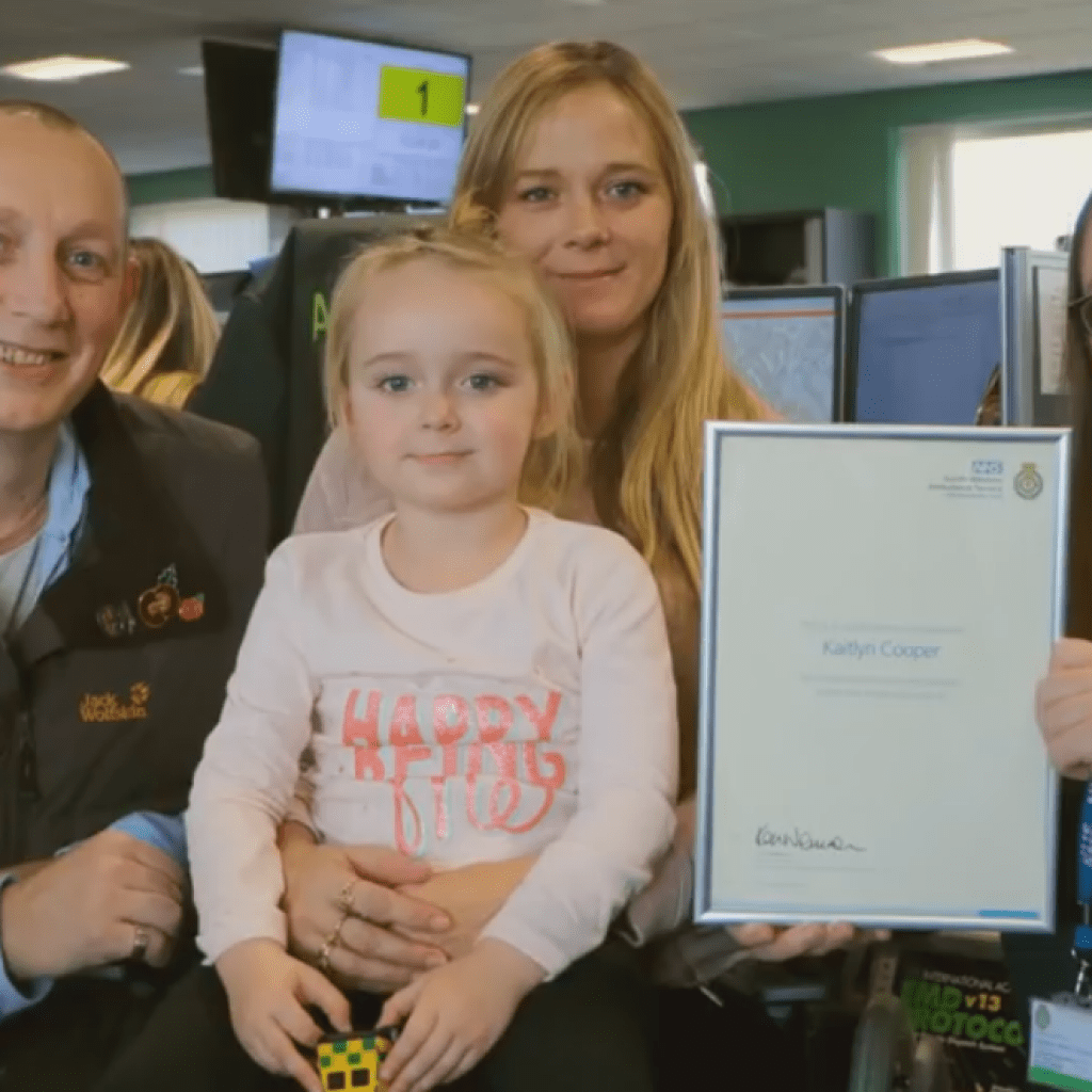 Brave Four-Year-Old Makes Calm 999 Call After Mum Has Four Fits In One Day