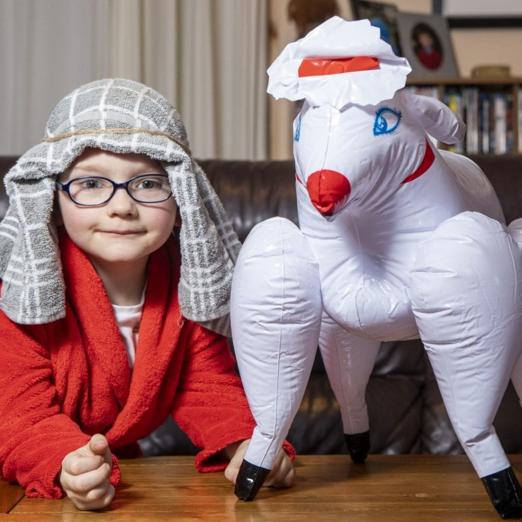 Mortified Mum Sent Five-Year-Old To School Nativity With A 'Shepherd' Costume Bought From The Internet Before Realising It Came With A Blow Up Sheep SEX DOLL
