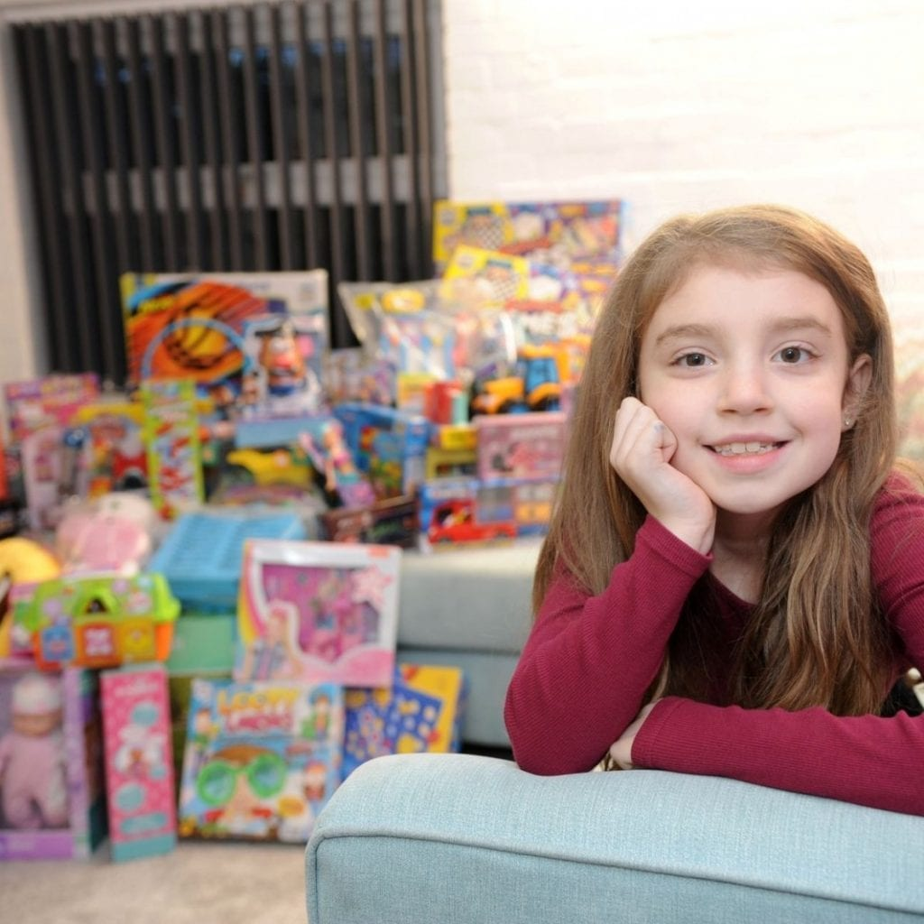 Nine-Year-Old Launches Christmas Campaign To Collect 100 Toys For Children Who Will Go Without This Festive Season