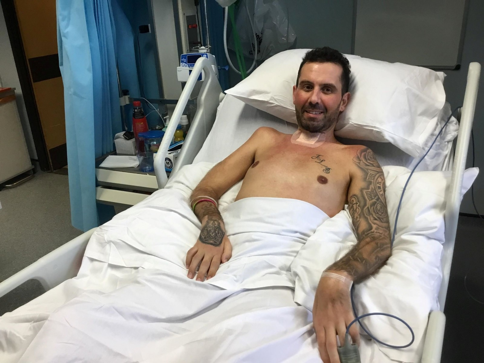Gym-Mad Dad Was Paralysed From The Nose Down By Rare Immune Disorder Triggered By – Chicken CURRY