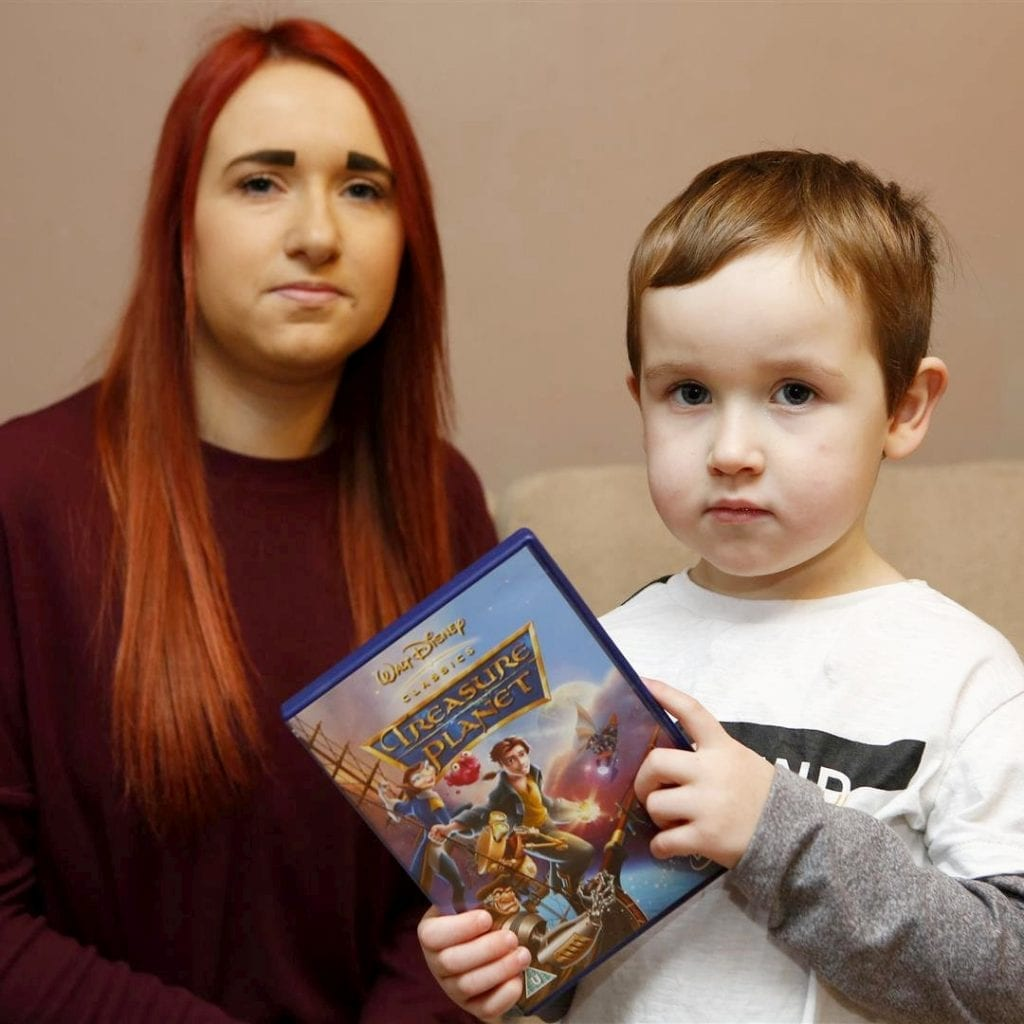 Mum's Horror As 'Disney' Film Treat Turned Out To Be The Exorcist