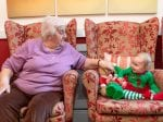 Adorable 'Little Elves' Visit OAPs For Christmas To Help Get Them Into The Festive Spirit