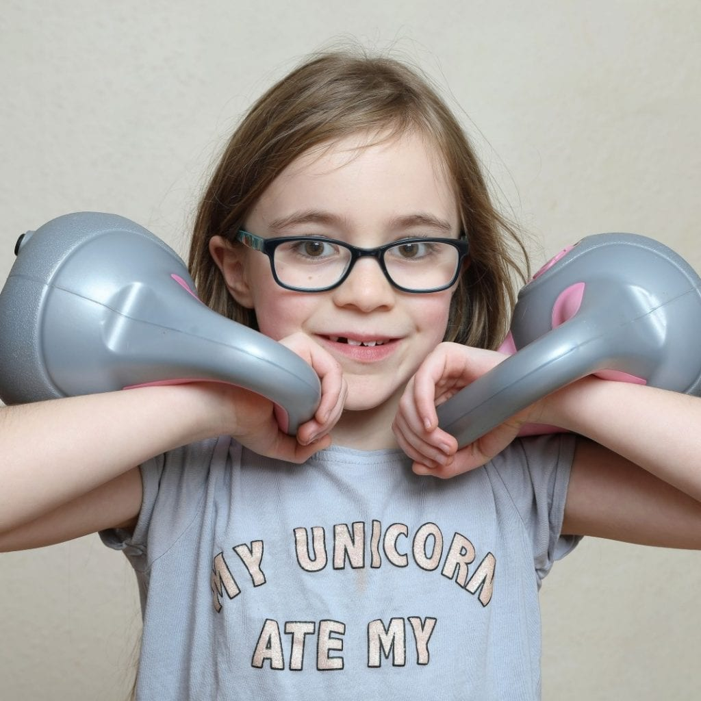 Britain's Youngest Weightlifter Bench Pressed Almost Twice Her Own Body Weight – AGED SEVEN