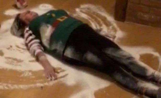 Gran Does Her Own Version Of 'Elf On A Shelf' – Where SHE Dresses Up As Santa's Helper For Mischievous Videos