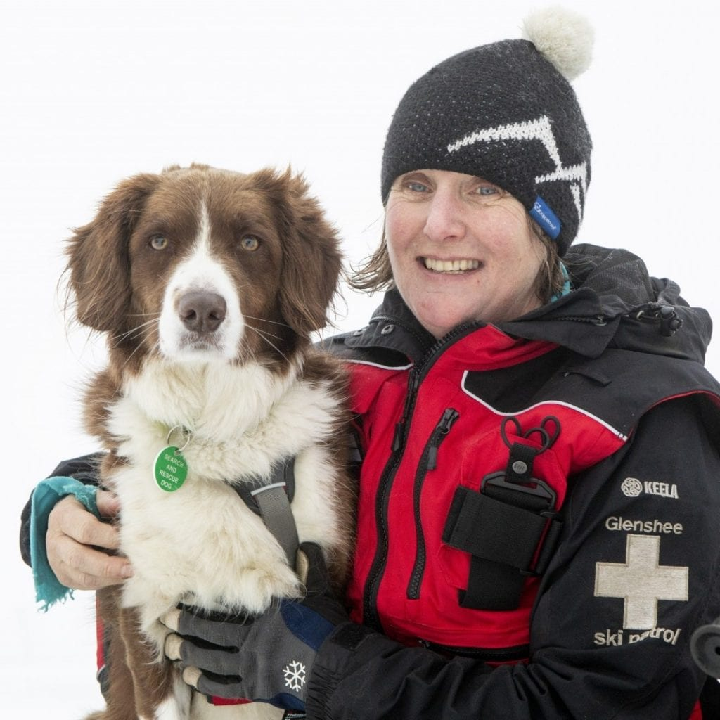 Ski Resort Now Has The UK's First Avalanche Rescue Dog - Whose