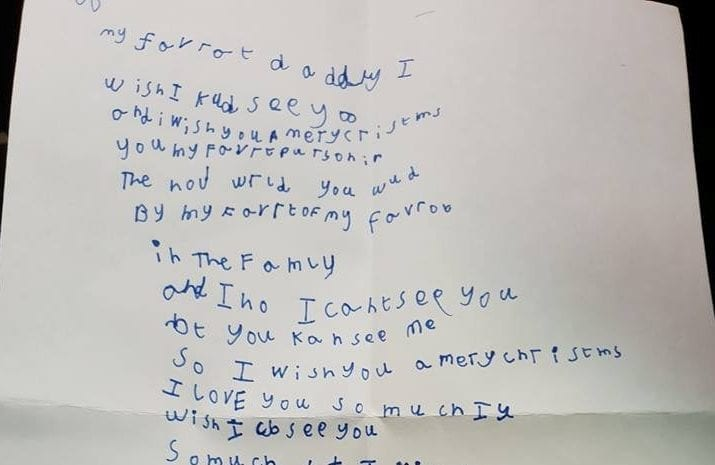 Six-Year-Old Receives Heartwarming Reply From Royal Mail After Writing To Dad 'In Heaven' Asking Him To Come Home For Christmas
