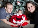 Meet The Real Life Festive Miracle – The Premature Baby Home In Time For Christmas After Fighting For Her Life THREE Times