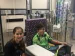 Eleven-Year-Old Who Beat Leukemia Supports Her Best Friend As He Battles Same Devastating Illness Years Later