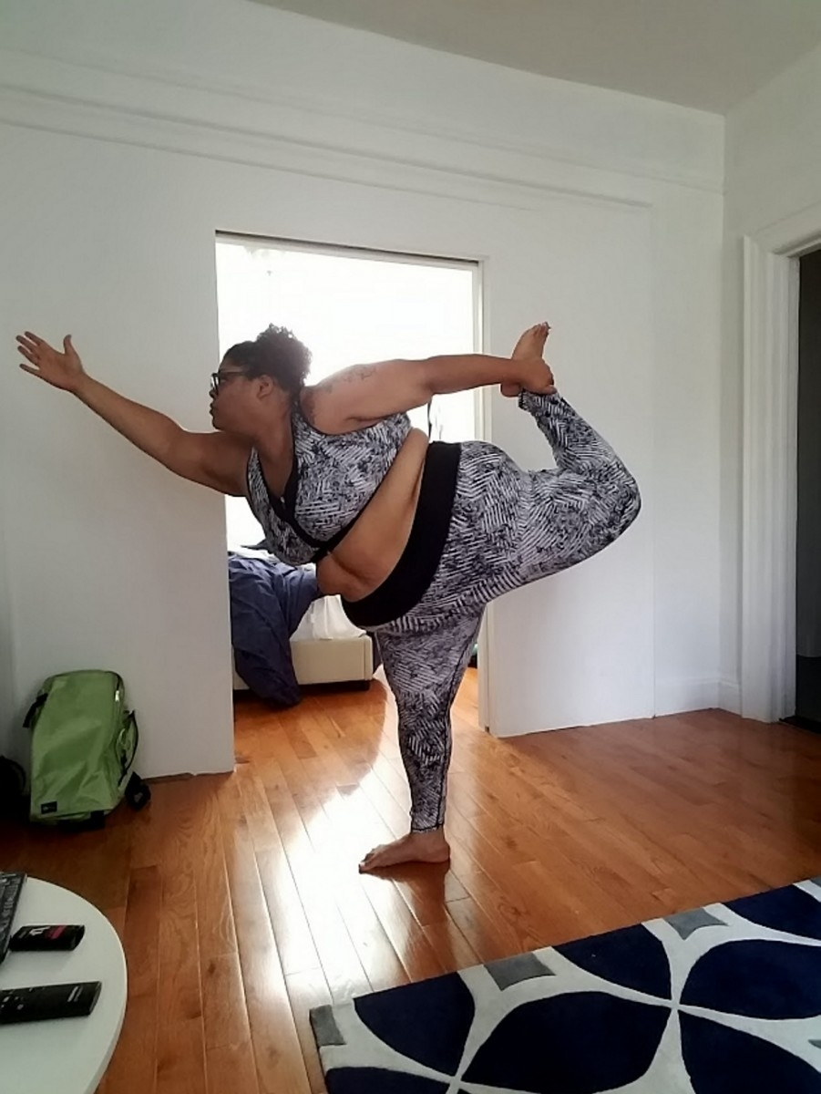 300lbs Woman Becomes Yoga Instructor After Being Shunned In Class Because Of Her Weight